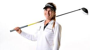 Luna Sobrón, en su imagen promocional del LPGA Tour