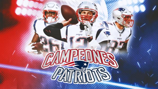 Los Patriots y Brady se convierten en leyenda e10462a0e8126