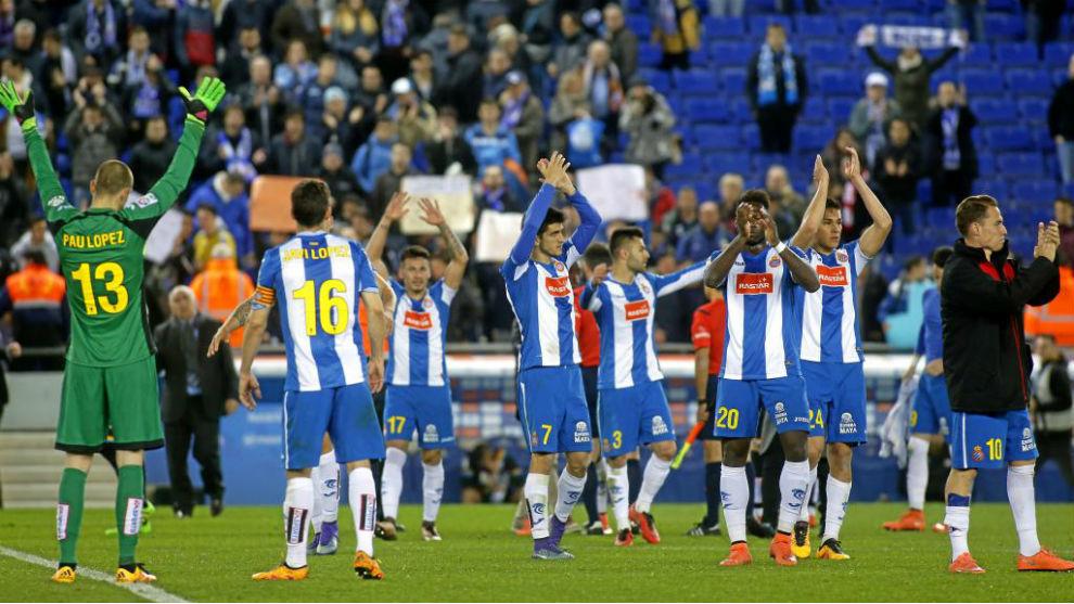Imagen de un Espanyol-Rayo.