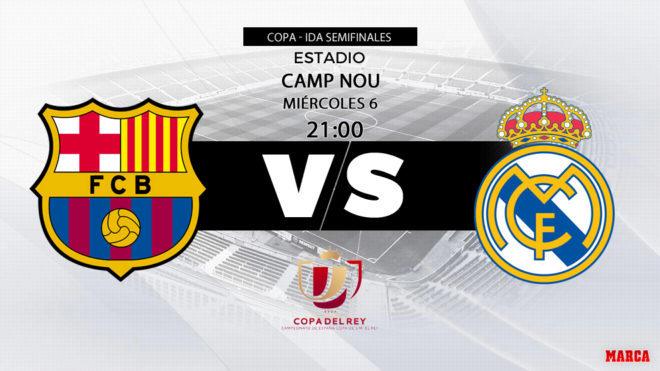 precio atractivo diseño encantador venta caliente Barcelona - Real Madrid: horario, canal y dónde ver en TV ...