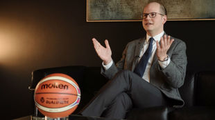 Andreas Zagklis, secretario general de la FIBA.