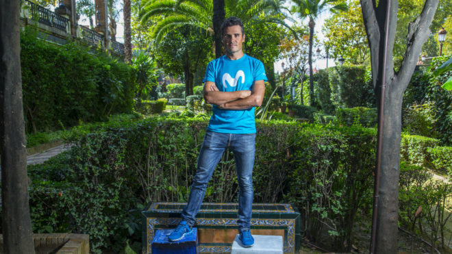 Gómez Noya, en un reportaje con MARCA