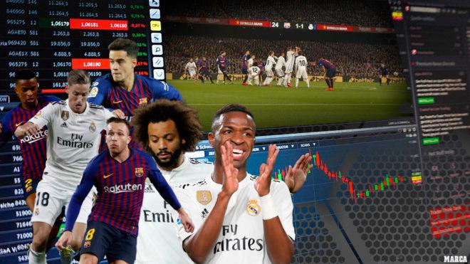 Barça - Real Madrid  La Bolsa del Clásico  jugadores reforzados y ... 929fadd2dcbf0