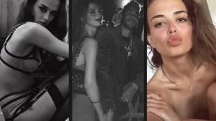 Elif Aksu, the model that Neymar takes by the hand