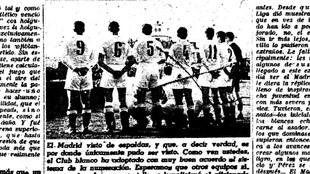"""Así reflejo MARCA al primer equipo """"numerado"""" del fútbol..."""