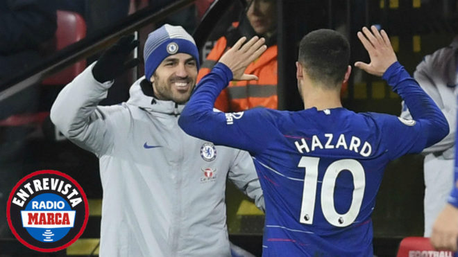 EPL transfer: Fabregas speaks on Eden Hazard leaving Chelsea for Real Madrid
