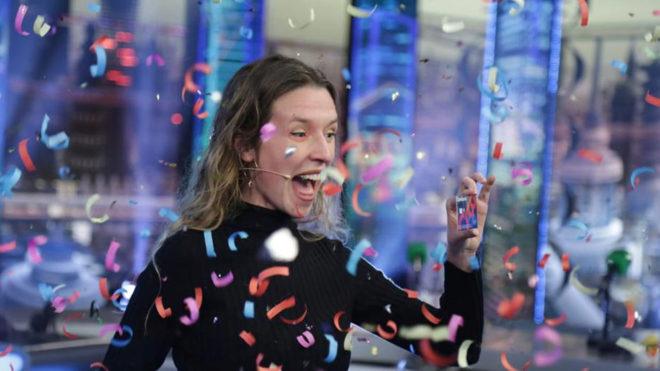 Gemma, tras ganar 6.000 euros en 'El Hormiguero'