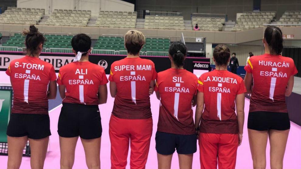 Georgina García gana a nipona Misaki Doi en la Copa Federación