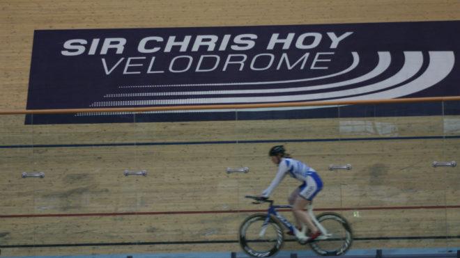 Una imagen del Sir Chris Hoy Velodrome, donde se disputarán las...