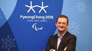 Andrew Parsons, presidente del Comité Paralímpico Internacional.