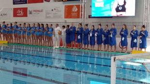 Semifinales de la Copa de la Reina entre el Sabadell y el Mediterrani