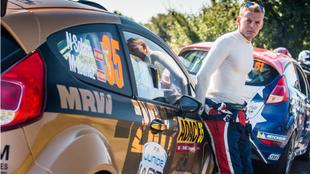 Nil, el pasado año, en el Rally de Alemania.
