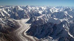 El calentamiento global amenaza a los glaciares de la cordillera más...