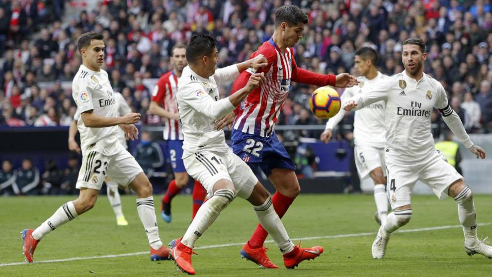 Real Madrid and Alvaro Morata