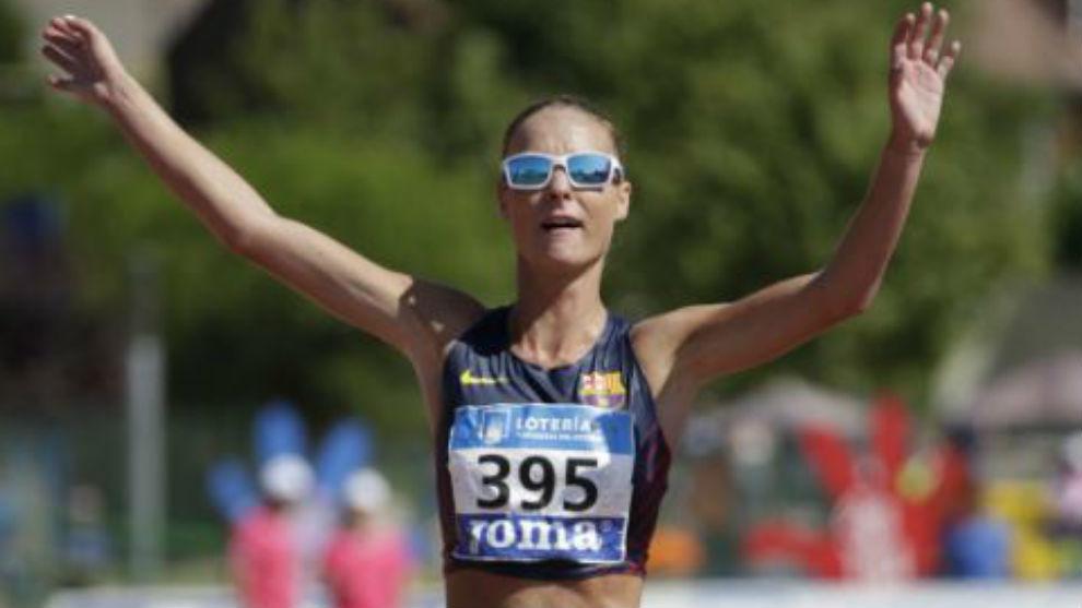 Raquel González, nueva plusmarquista nacional de los 50 kilómetros...