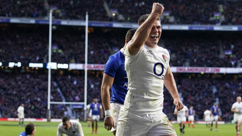 Inglaterra aplasta a Francia, mientras Irlanda y Gales ganan fuera de casa