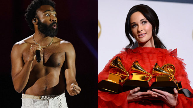 Kacey Musgraves reina en Grammys históricos para Cardi B y Childish...