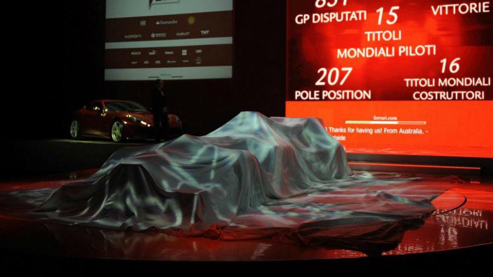 Ferrari cierra la semana de presentaciones el viernes con su nuevo...