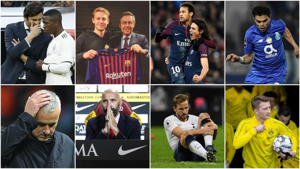 Vuelve la Champions: todo lo que ha cambiado en cada equipo desde el sorteo