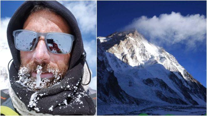 Alex Txikon y el K2.