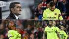 Valverde, Messi, Semedo, Vidal y Rakitic, en San Mamés