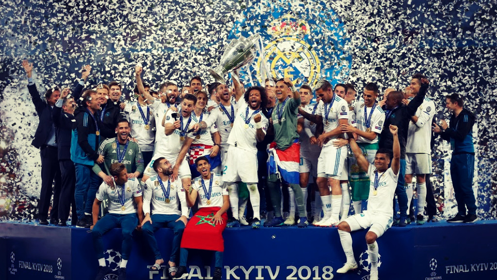 El Real Madrid ha ganado las tres últimas Champions League.