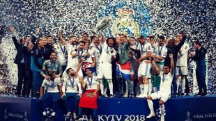 El Real Madrid ha ganado las tres últimas Champions League.