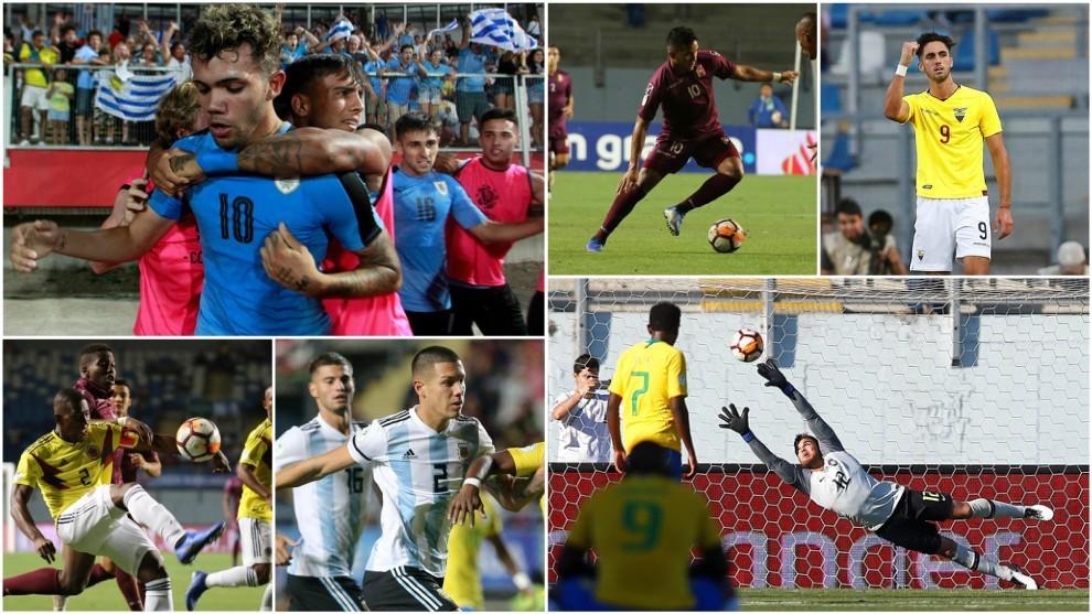 El once ideal del Sudamericano sub 20
