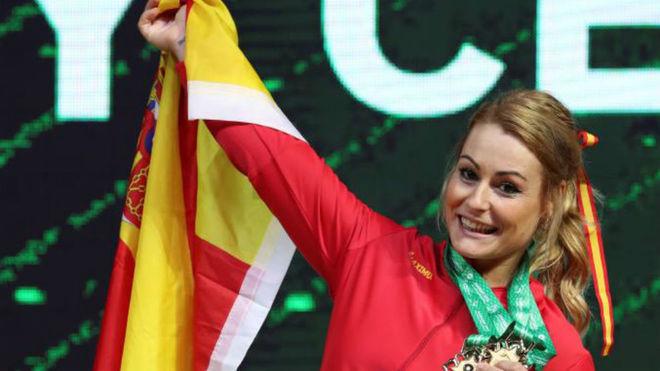 Lydia Valentín, en el último Mundial.