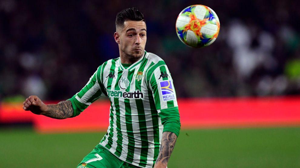 Sergio León, frente al Espanyol