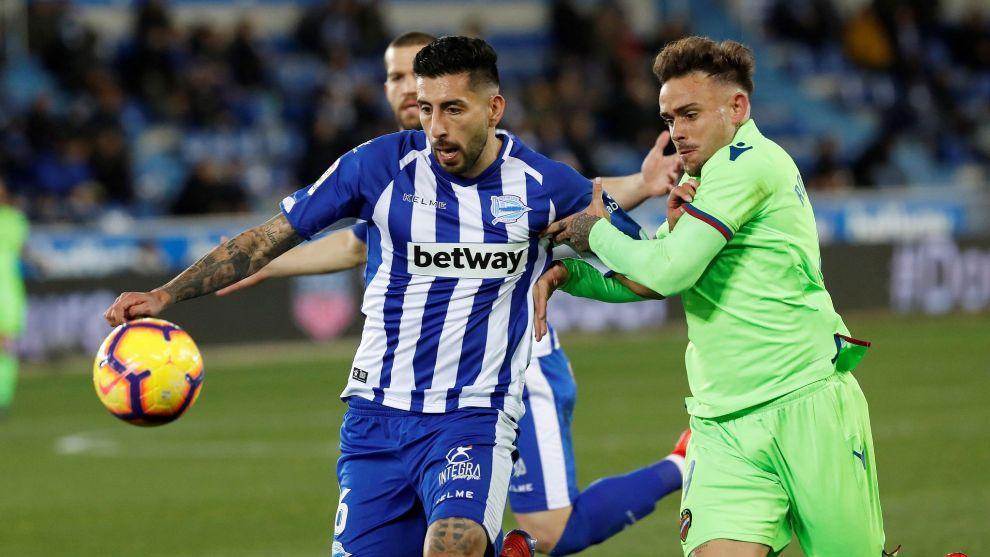 Maripán, en el partido frente al Levante