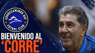Carlos Reinoso dirigirá a su equipó 15