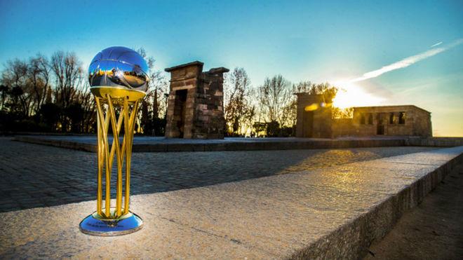 La Copa del Rey, en el famoso Templo de Debod de Madrid