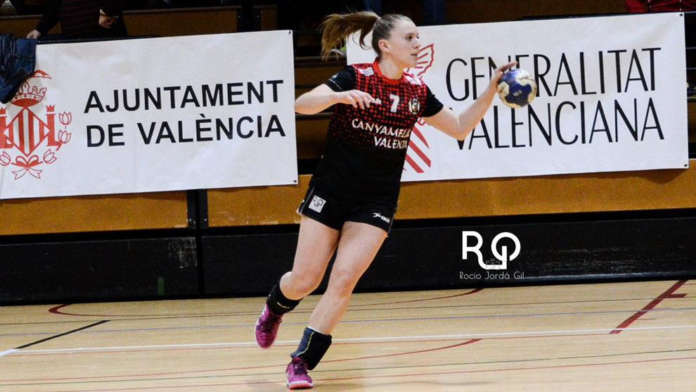 Martina Cecilia Mazza, jugadora del Canyamelar