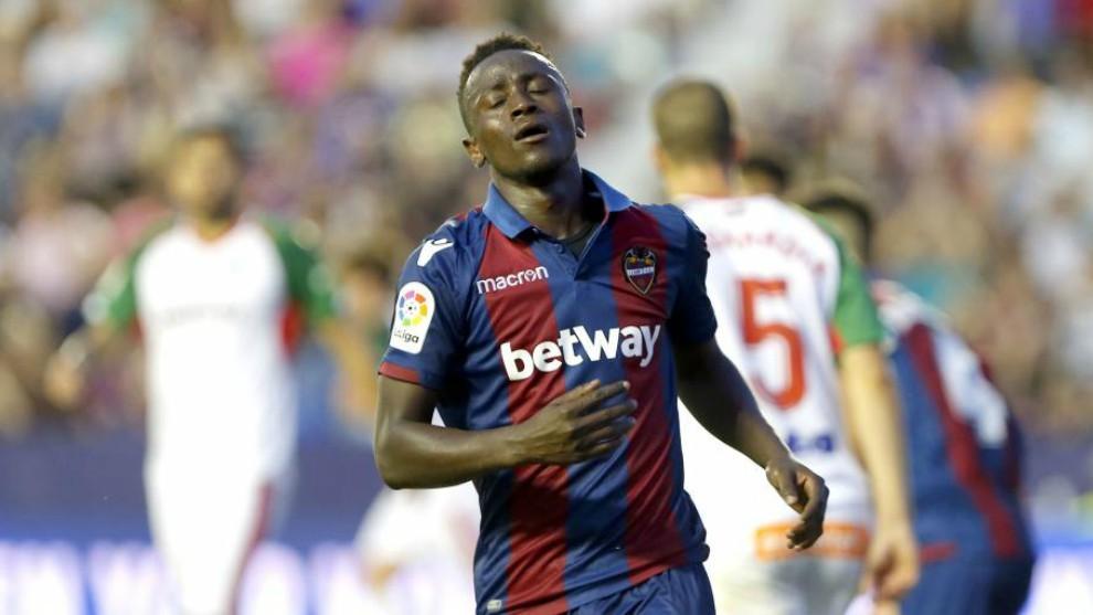Boateng, en el partido contra el Alavés disputado esta temporada en...