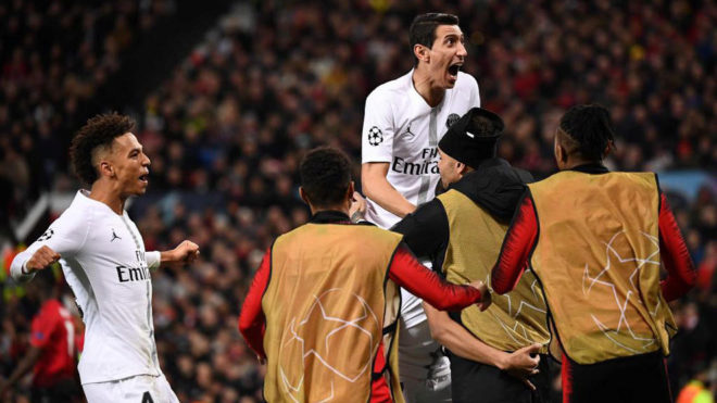 PSG hands Man United first defeat under Solskjaer