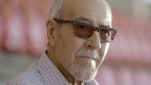 Manuel Briñas, fundador de la escuela del Atlético de Madrid.