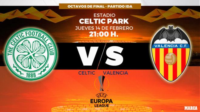 Resultado de imagen para Celtic vs Valencia
