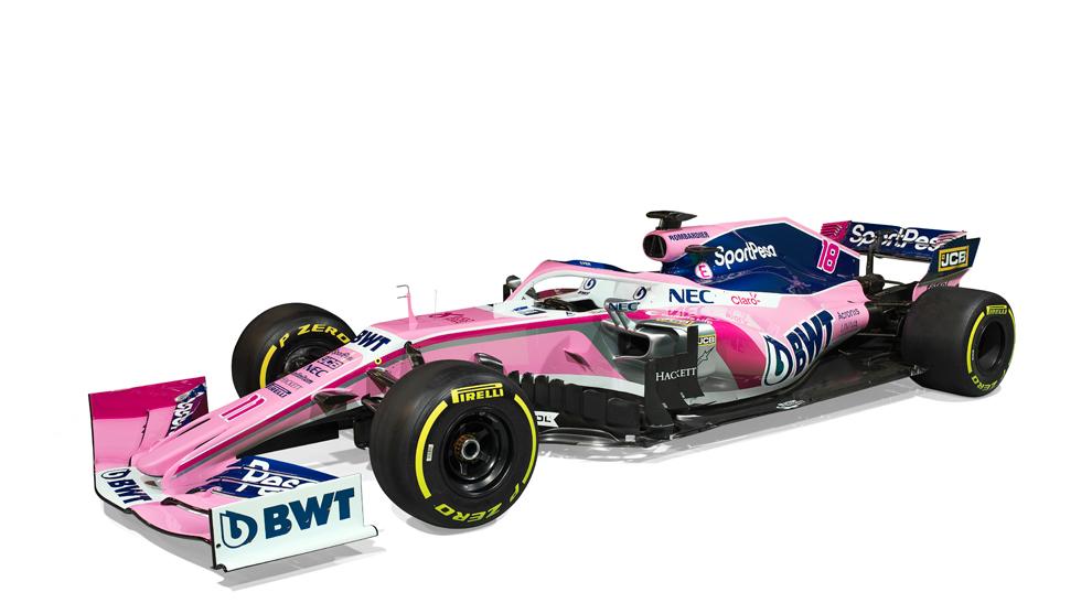 Así será el nuevo auto de Checo Pérez