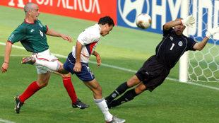 Donovan en uno de los goles más dolorosos para México