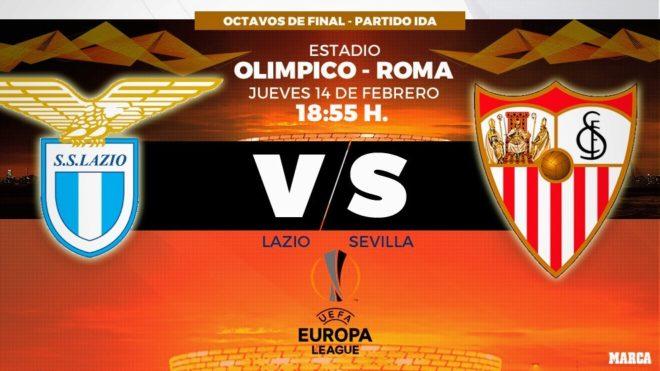 Resultado de imagen para Lazio vs Sevilla
