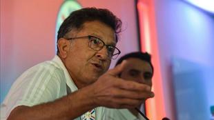 Osorio llegó en septiembre como DT de Paraguay