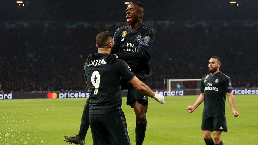 98b7d243027 Champions League 2018-19 Gran resultado de los blancos en Amsterdam (1-2)