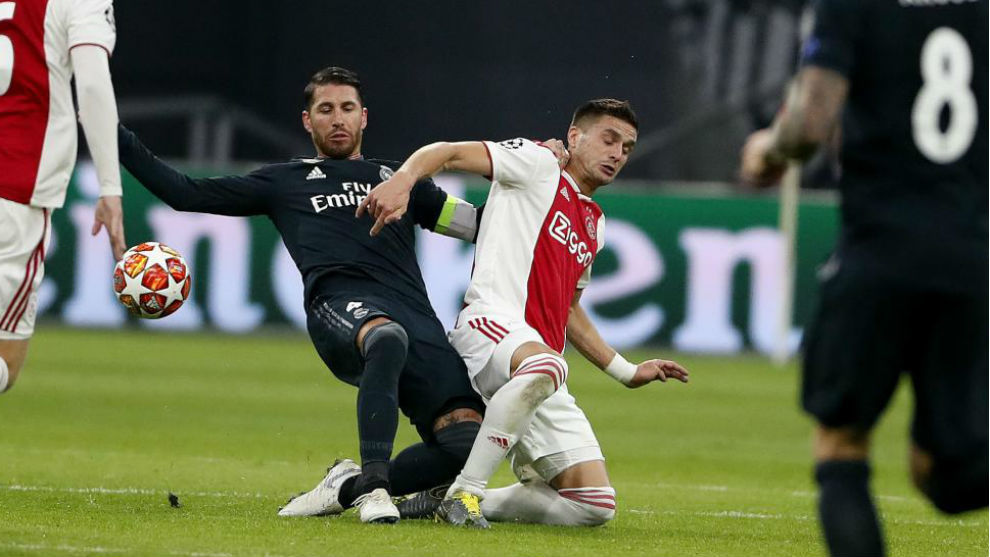 Ajax Vs Real Madrid: Ramos On His Yellow Card: I'd Be