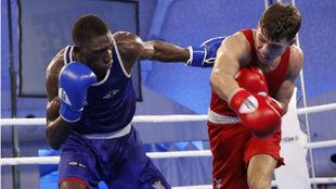 Youba Sissokho en el Campeonato de la Unión Europea.