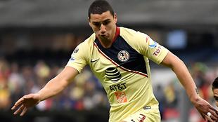 Jorge Sánchez durante un partido del Clausura 2019.