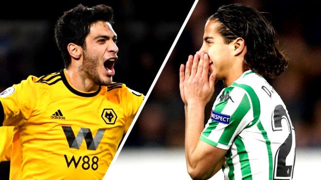 Lainez y Jímenez buscan cerrar el año futbolístico con alegrías en...
