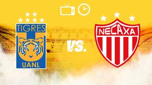 Tigres vs Necaxa, hora y dónde ver