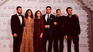 El elenco de 'La Boda De Mi Mejor Amigo' en el estreno