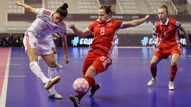 Fútbol Sala Sigue En Directo El Rusia Vs España Del Europeo Femenino De Fútbol Sala Marca Com